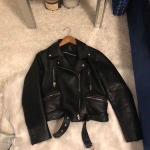 Zara pleather jacket